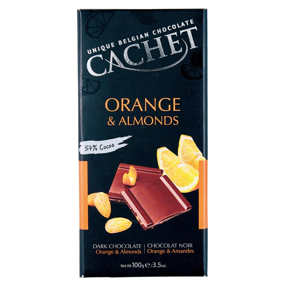 オレンジ&アーモンドチョコレート