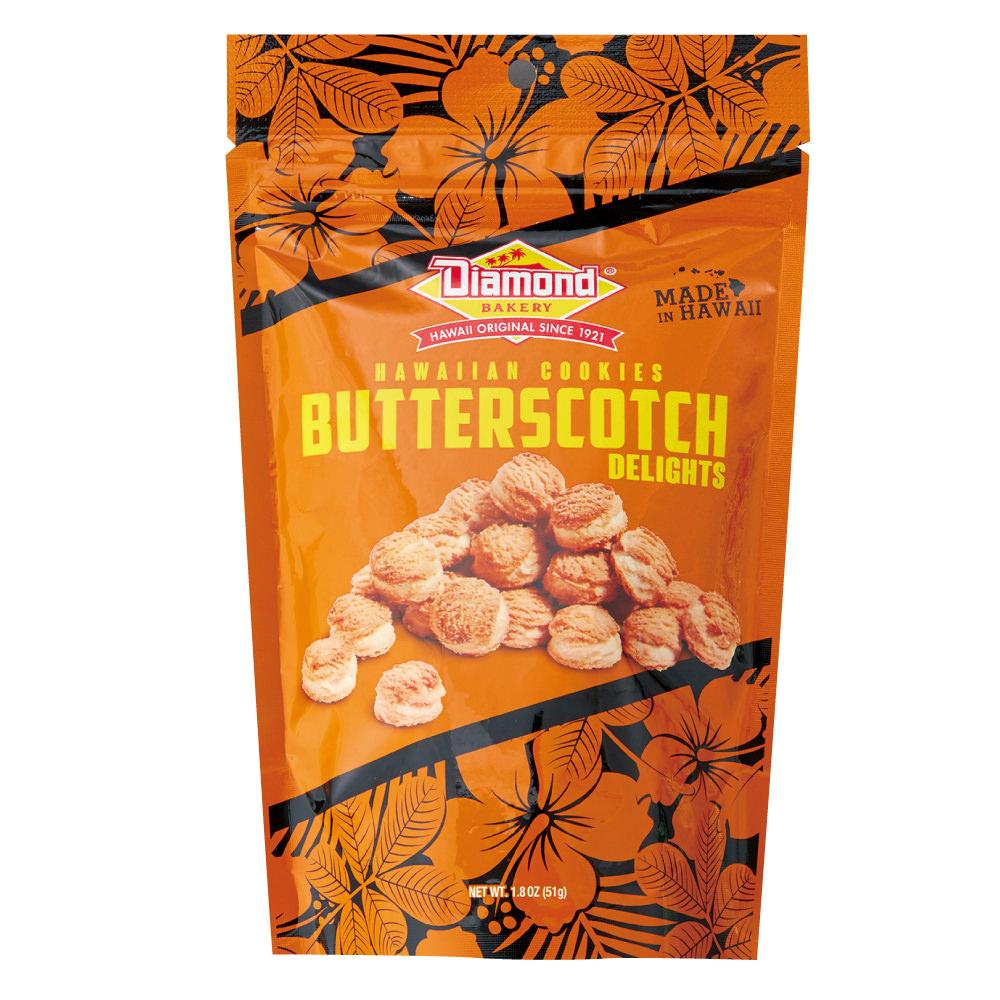ハワイアンショートブッドクッキー バタースコッチ 51g