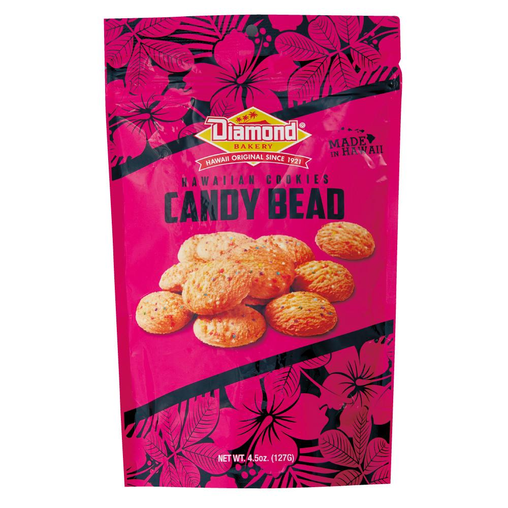 ハワイアンショートブッドクッキー キャンディービーズ 127g