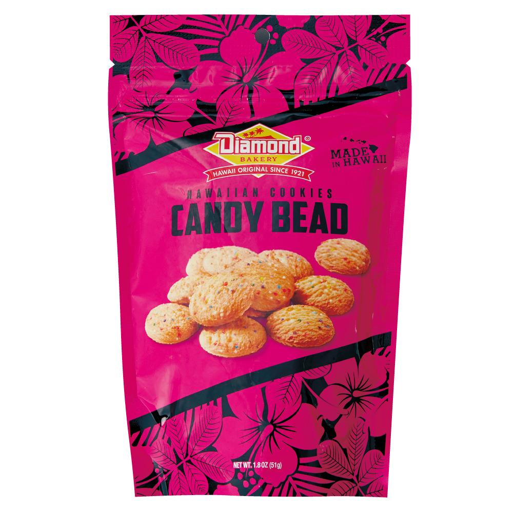 ハワイアンショートブッドクッキー キャンディービーズ 51g