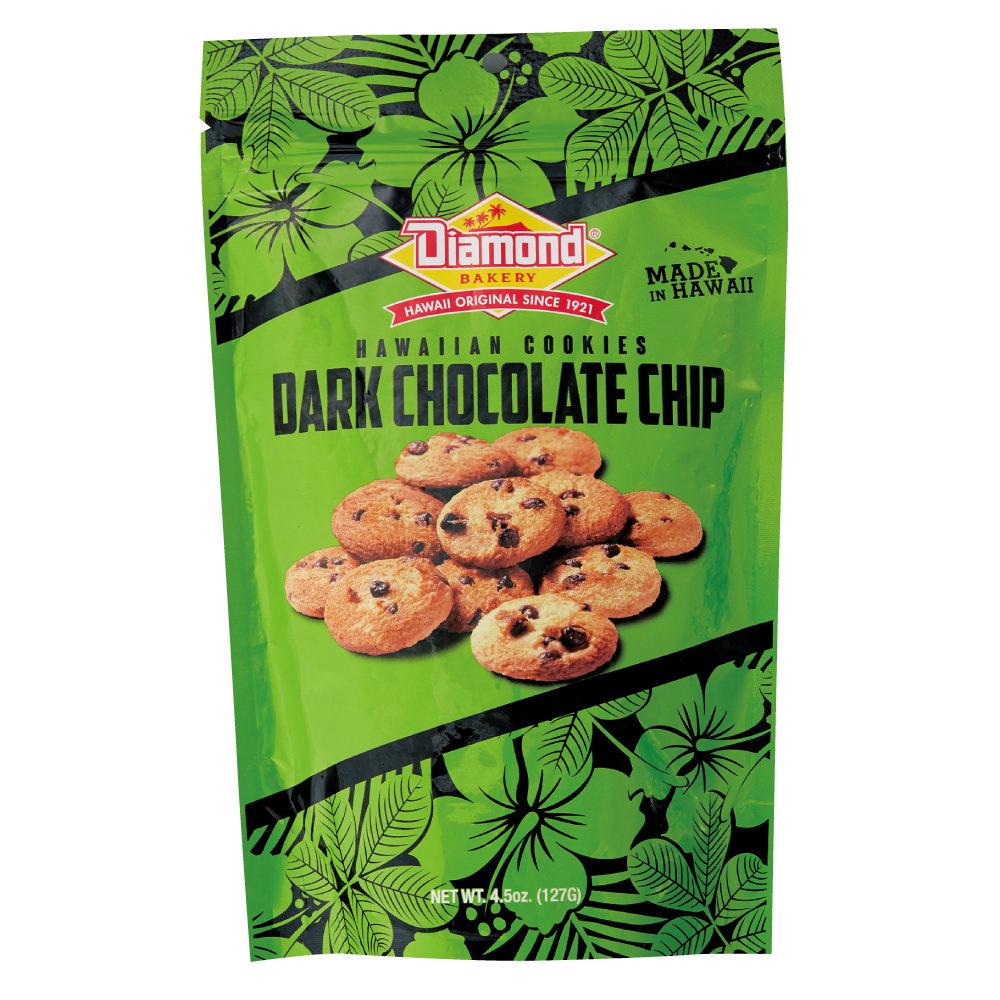 ハワイアンショートブッドクッキー ダークチョコレートチップ 127g