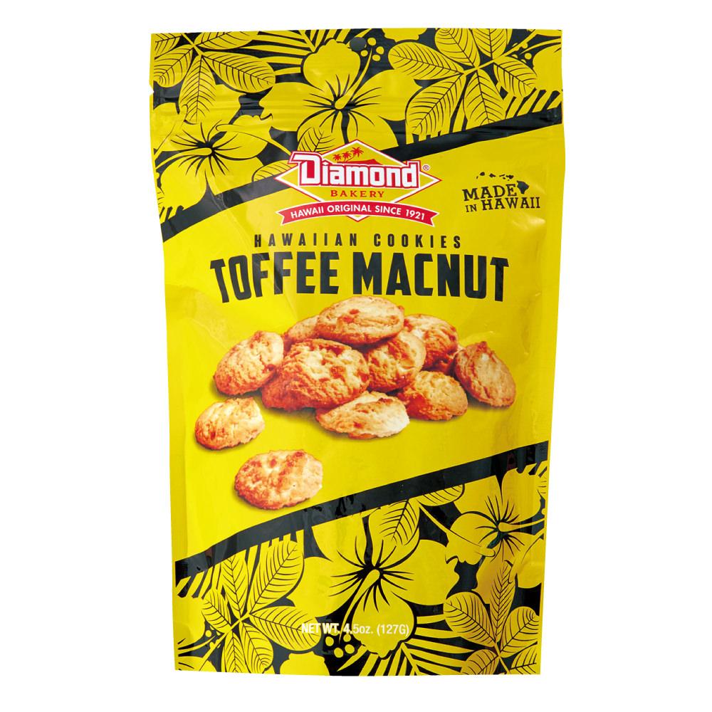 ハワイアンショートブッドクッキー トフィーマカナッツ 127g
