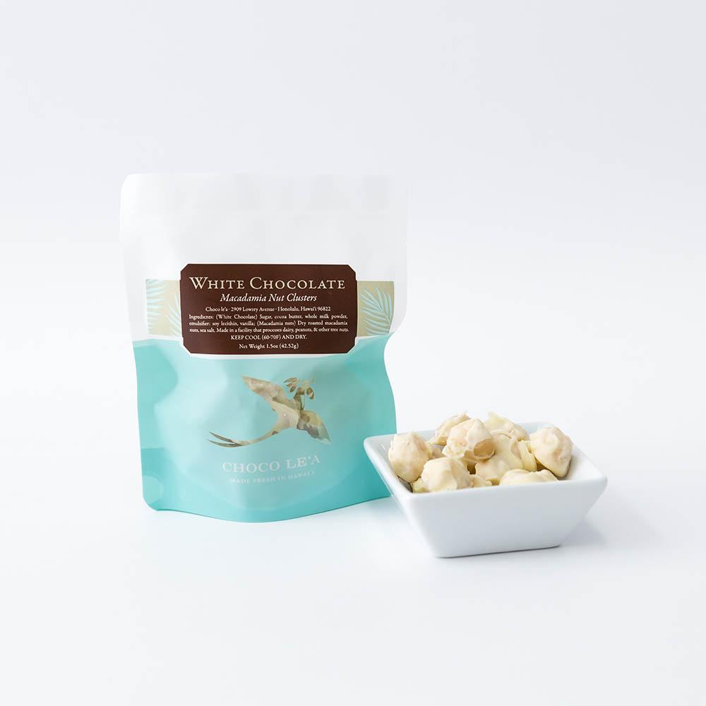 ホワイトチョコレート マカダミアナッツクラスター